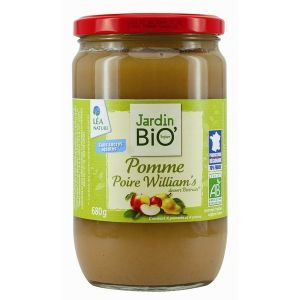 Jardin Bio Biofruits pomme & poire William's (680g)