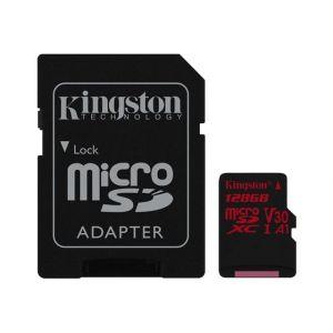 Kingston SDCR/128GB - Canvas React - Carte mémoire (adaptateur microSDXC vers SD ) 128 Go