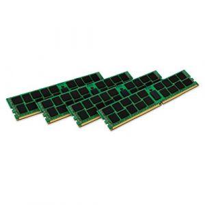 Kingston KVR24R17D4K4/128 - ValueRAM 128 Go (4 x 32 Go) DDR4 2400 MHz CL17 ECC Registered DR X4