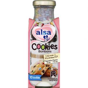 Alsa 215g cookie bonbons bouteille