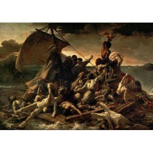 Grafika Le Radeau de La Méduse, 1817-1818 - Puzzle Théodore Géricault 1000 pièces