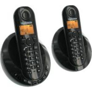 Telefunken TB 252 Peps Duo - Téléphone sans fil avec répondeur 2 combinés (2010)