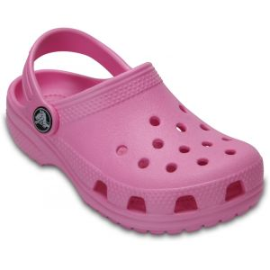 Crocs Classic Clog Kids, Mixte Enfant Sabots, Rose (Carnation), 32-33 EU