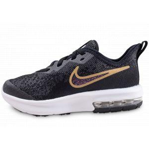 Jeune Enfant Nike Sequent Max Air Noir Pour 4 Chaussure 0xq4PYZwqT