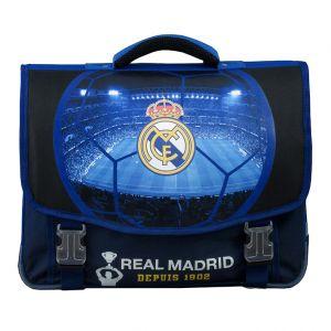 La Plume Dorée Cartable 41cm Real Madrid 2 compartiments