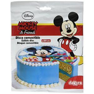 Disque en sucre Mickey 20 cm