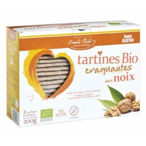L'emile saveurs Tartines sans gluten noix bio (2x100gr)