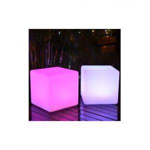 Kosilum Cube 30cm lumineux LED avec télécommande - EN SOLDES !