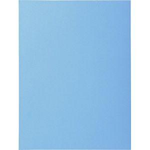 Image de Exacompta 330010E - Paquet de 100 chemises SUPER 250, coloris bleu vif