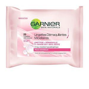 Garnier Skin Naturals Lingettes démaquillantes micellaires peaux sensibles