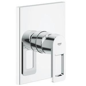 Grohe 19455000 - Façade pour mitigeur QUADRA monocommande 15x21 sans inverseur automatique bain-douche chromé