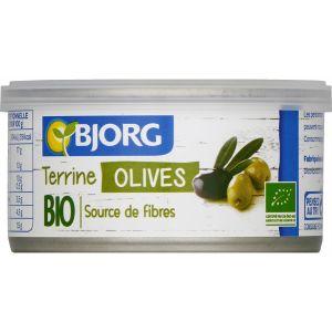 Bjorg Terrine vegetale olives 125g