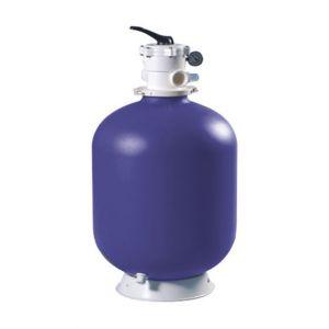 """Aqualux Filtre à sable Top D365 - 5m³ / H avec vanne 6 voies 1""""1/2"""" - Filtre à sable Top D365 ? Verre ou zéolithe - 5m³/h avec vanne 6 voies 1""""1/2."""""""