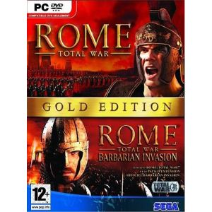 Rome : Total War Gold Edition - Le jeu + l'extension Barbarian Invasion [PC]
