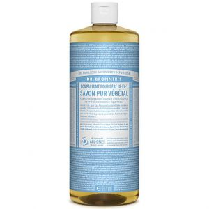 Dr Bronner's Savon Pur Végétal Non Parfumé pour Bébé 18-en-2 - 944 ml