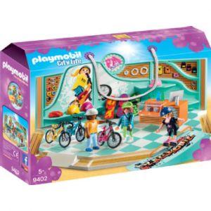 Playmobil 9402 - Boutique de skate et vélos