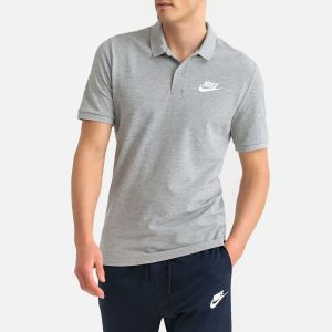 Nike Polo Sportswear pour Homme - Gris - Taille S - Male