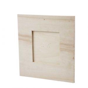 Creotime Cadres - Cadre photos, dim. 15,8x15,8 cm, diamètre intérieur: 8x8 cm,