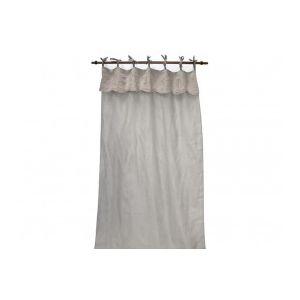 rideaux nouettes blanc comparer 66 offres. Black Bedroom Furniture Sets. Home Design Ideas