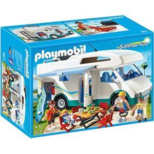Playmobil 6671 Summer Fun - Famille avec camping-car
