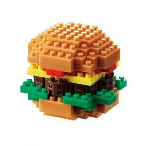 Kawada Nanoblock Hamburger Building Set