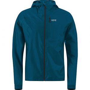 Image de Gore Wear GORE WEAR R7 Shakedry Veste à Capuche Homme Pacific Blue FR : XL (Taille Fabricant : XL)
