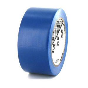Ruban adhésif vinyle 3M 764 bleu 50mm x 5