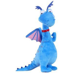 Posh Paws International Peluche Toufy le dragon bleu 25 cm (Docteur la peluche)