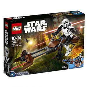 Lego 75532 - Star Wars : Scout Trooper et Speeder Bike