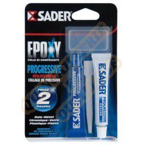 Sader Colle époxy progressive - 15 ml lot de 2