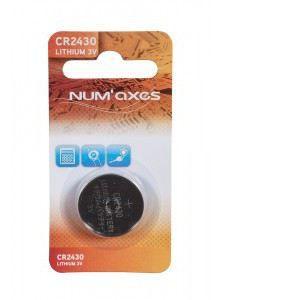 Num'Axes Pile lithium CR 2430