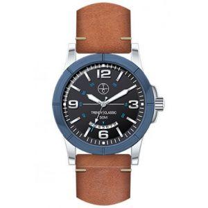 Trendy Classic CB1036-02D - Montre pour homme avec bracelet en cuir
