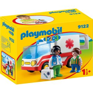 Playmobil 9122 - 1.2.3 : l'ambulance