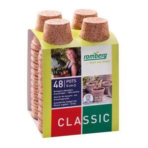 Romberg Pots Biodégradables pour Plantes et Semis