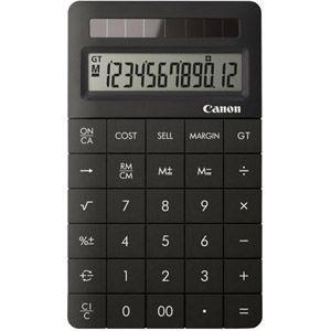Canon X Mark II - Calculatrice financière solaire de bureau