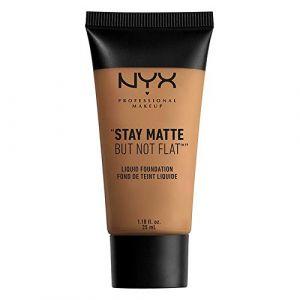 NYX Cosmetics Stay Matte But Stay matte but not flat - Fond de teint liquide