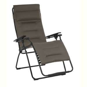Lafuma Mobilier Futura XL - Siège camping - Air Comfort gris/noir Chaises pliantes