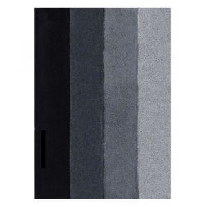 Spirella Tapis de bain FOUR 55x65cm Gris Noir Tapis de bain FOUR - 90% Polyester et 10% acrylique - 55 x 65 cm - Cycle délicat - Gris noir