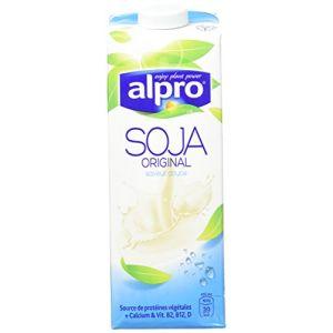 Alpro Boisson au soja original avec calcium et vitamines ajoutées