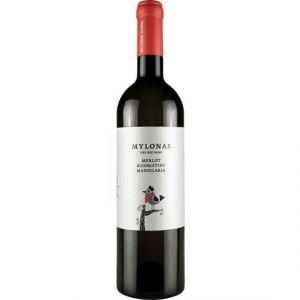 MYLONAS Merlot Agiorgitiko Mandilaria Vin de Grece - Rouge - 75 cl - IGT - Vin de Grèce Mylonas Merlot Agiorgitiko Mandilaria IGT