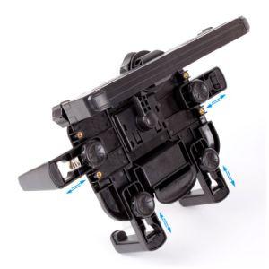 Duragadget Support voiture d'appuie-tête pour tablettes tactiles (Polaroid Executive, Diamond Iii, Rainbow, Pearl Et E9.7, S8, S9, M10)