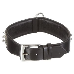 Nobby Collier chien Delgado cuir noir 70cm x 50mm