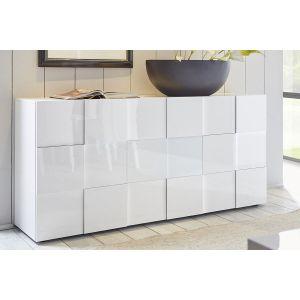 Buffet design blanc laque - Comparer 387 offres 692fad981677