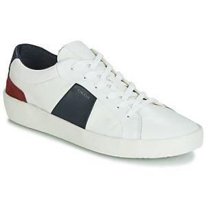 Geox Baskets basses U WARLEY blanc - Taille 39,40,41,42,43,44,45