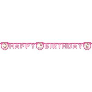 Guirlande Happy Birthday Hello Kitty