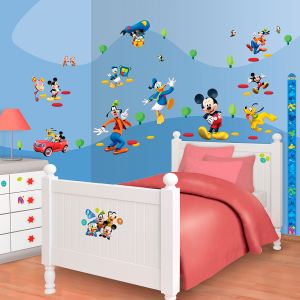 Walltastic 58 stickers Mickey Mouse Disney