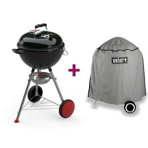 Weber Kettle Plus 47 cm - Barbecue à charbon + Housse