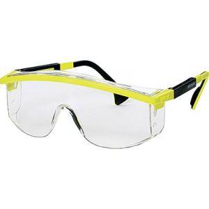 Uvex Lunettes de protection jaunes et noires Astrospec