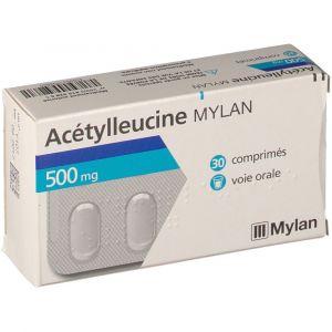Mylan Acétylleucine 500 mg - 30 comprimés