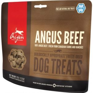 Orijen Angus Beef Dog Treats chien 92 g